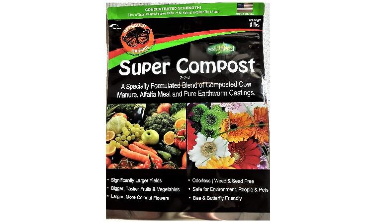 Soil Blend 8 lbs. Super Compost Organic Mulch