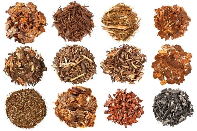 Types of Mulch Colors