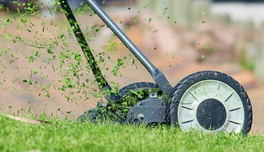 Mowing Wet Grass