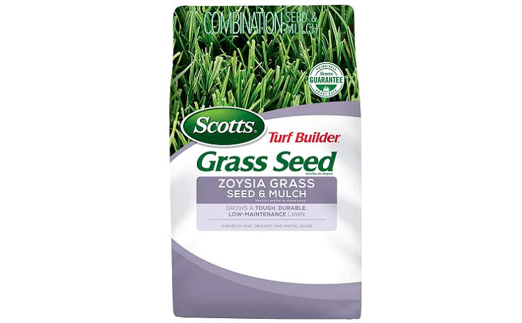 Scotts Zoysiagrass Seed And Mulch