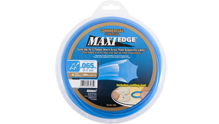 Arnold Maxi-Edge 065-Inch Commercial Grade String Trimmer Line